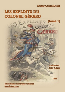 Doyle Arthur Conan - Les Exploits du Colonel Gérard (tome 1) - Bibliothèque numérique romande - Laura Barr-Wells illustration William Barnes Wollen